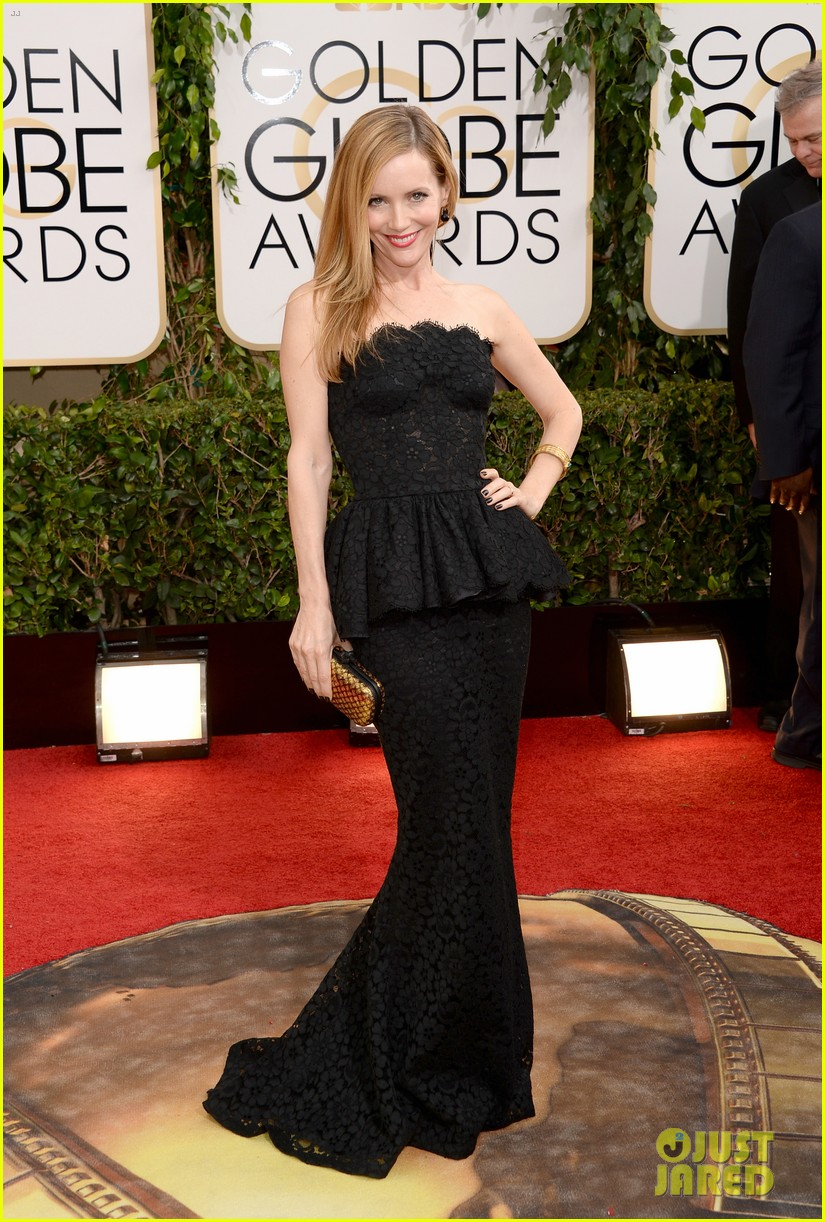 judd apatow leslie mann golden globes 2014 red carpet 013029134