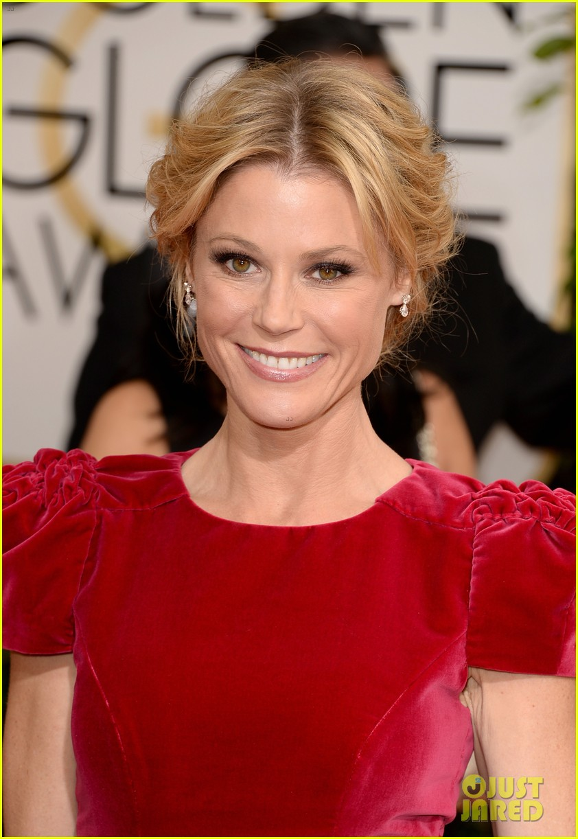 julie bowen golden globes 2014 red carpet 033029462