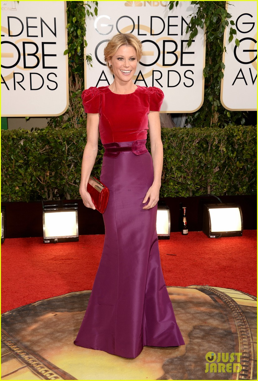 julie bowen golden globes 2014 red carpet 043029463