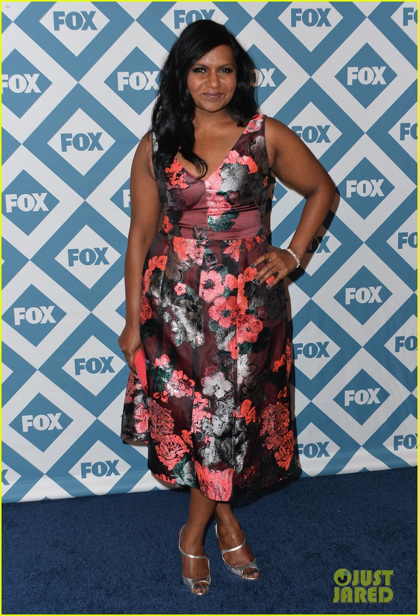 mindy kaling judy greer fox all star party 2014 083031013