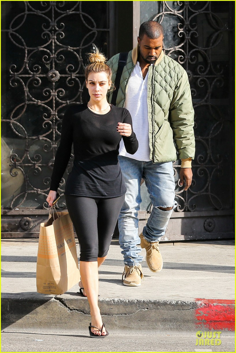 kim kardashian kanye weest shop together after new year 013022223