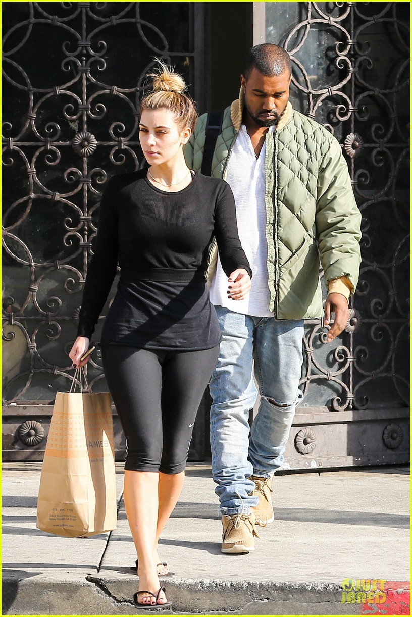 kim kardashian kanye weest shop together after new year 06