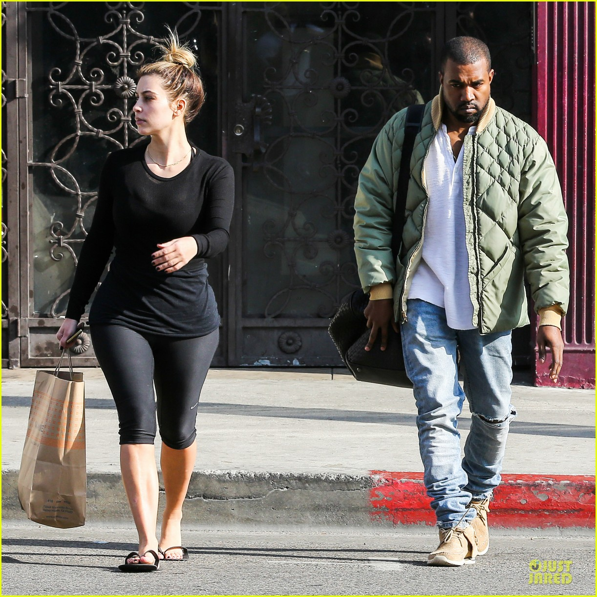 kim kardashian kanye weest shop together after new year 123022234