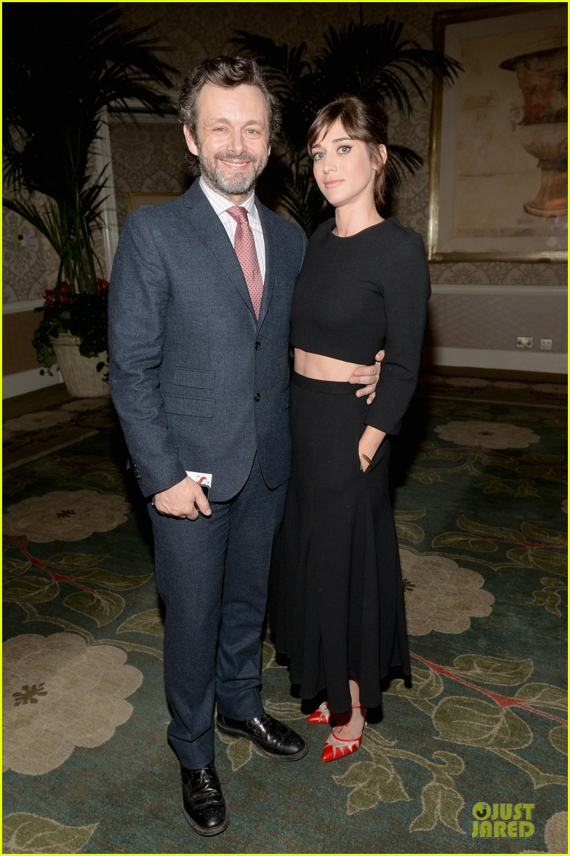 lizzy kaplan michael sheen afi awards 2014 033027435