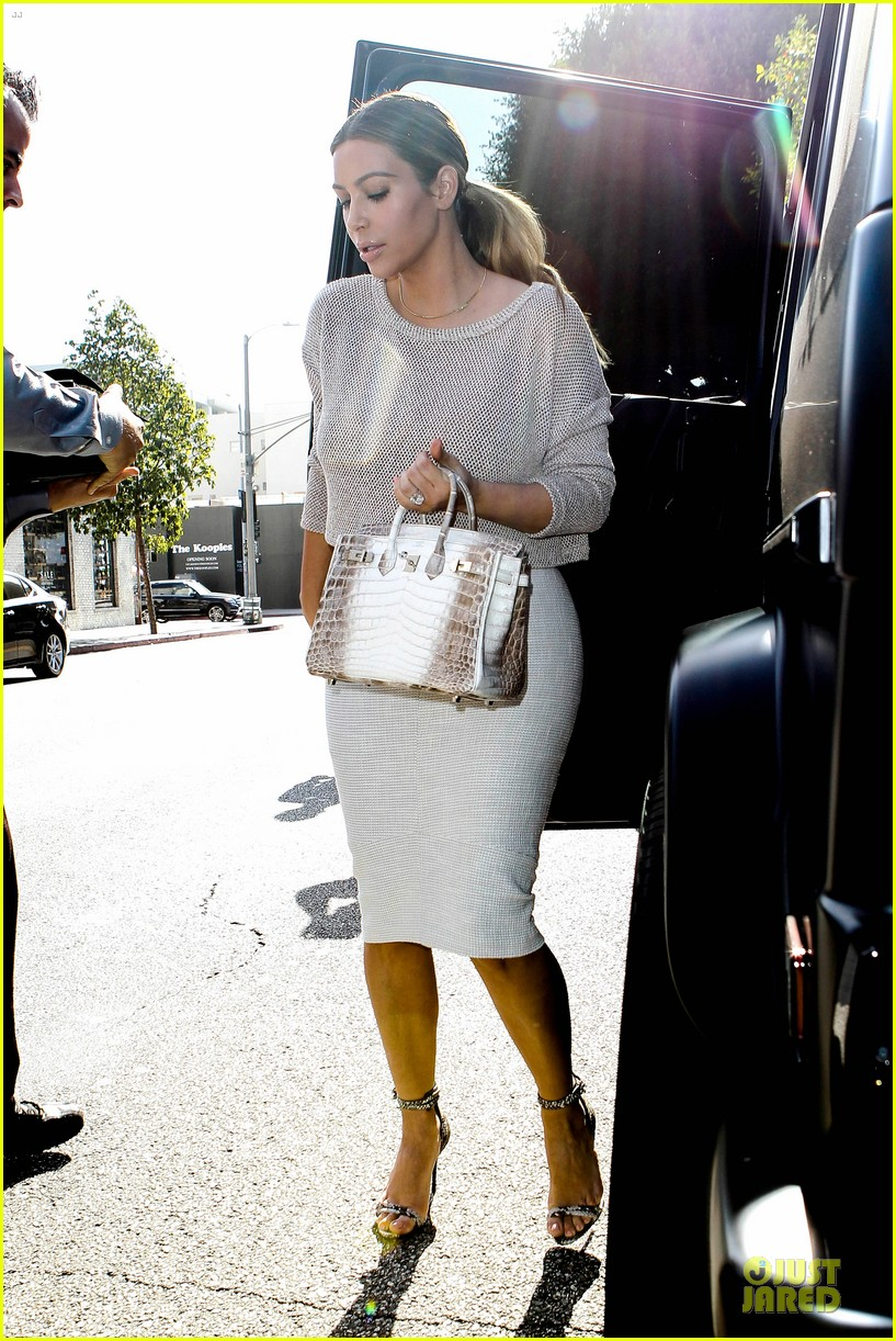 kim kardashian kanye west bright saturday outings 233028002