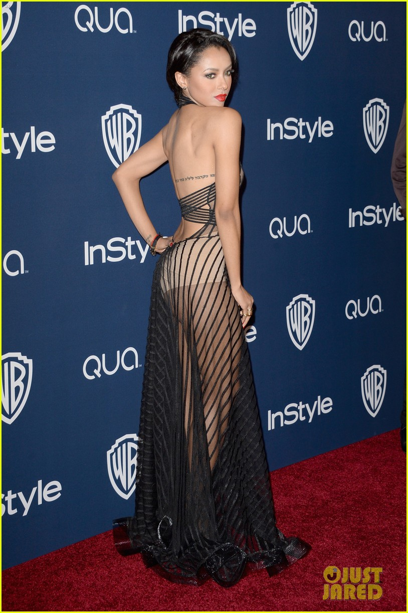 kat graham sheer golden globes claire holt 023030214