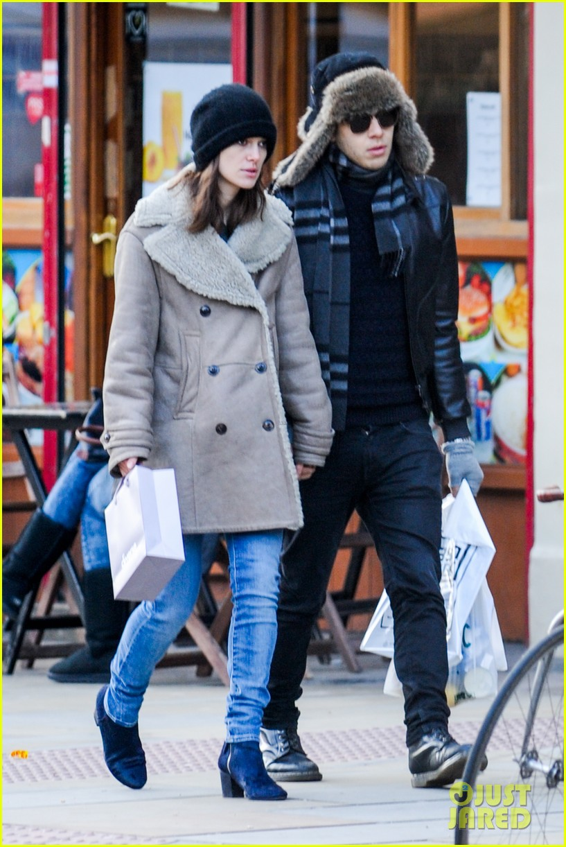 keira knightley james righton walk hand in hand for shopping trip 073031198