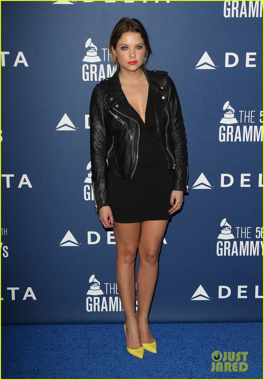 anna kendrick ashley benson delta airlines pre grammy party 083039131