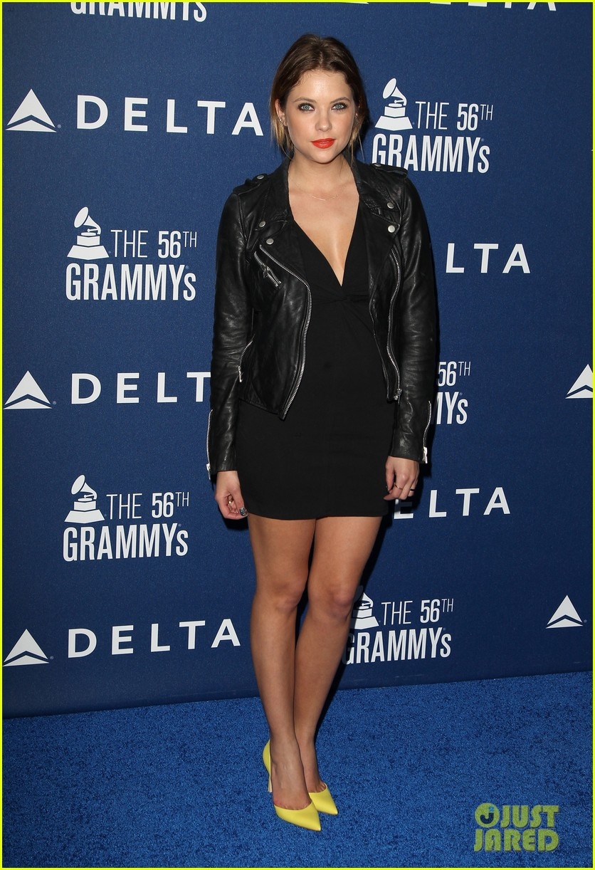 anna kendrick ashley benson delta airlines pre grammy party 093039132