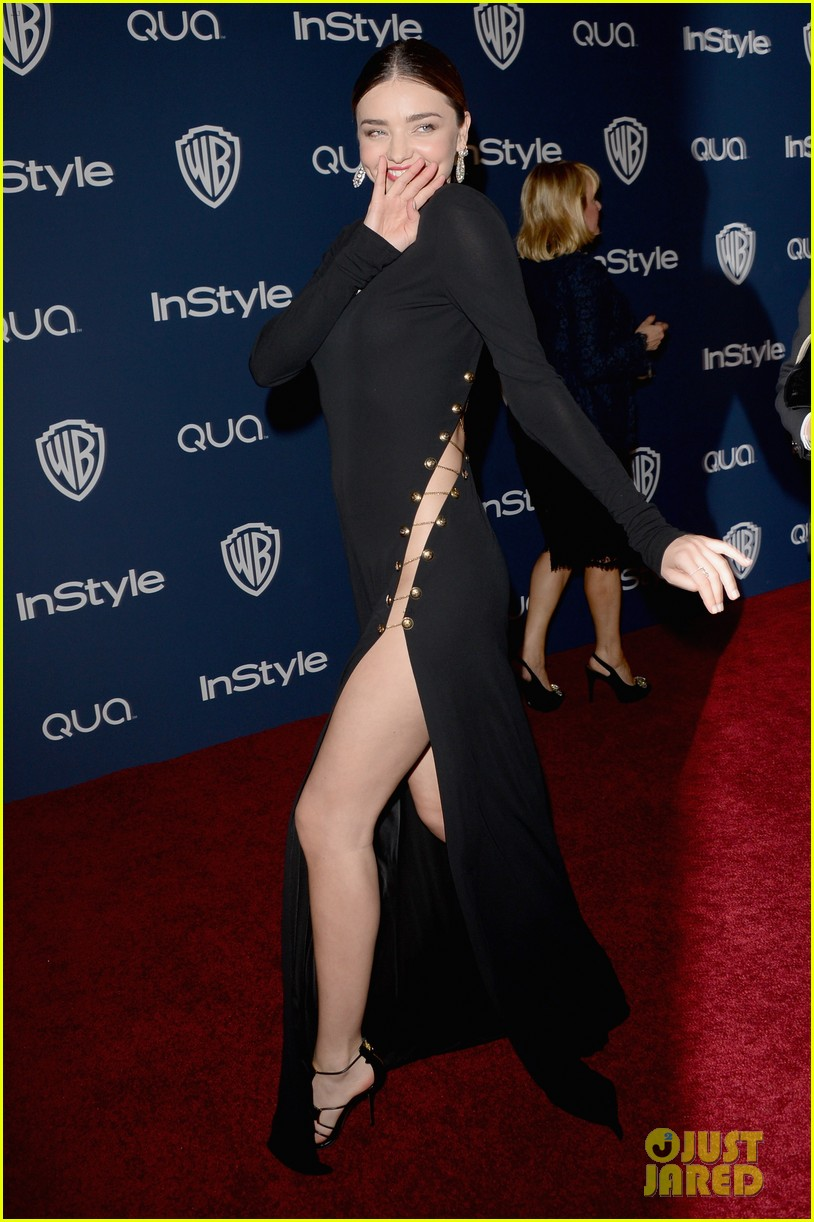 miranda kerr rocks full body slit at golden globes party 2014 083030014