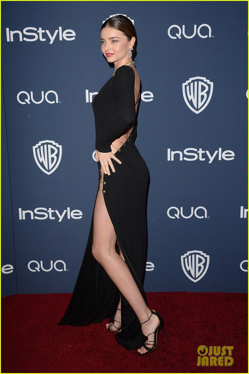 miranda kerr rocks full body slit at golden globes party 2014 133030019