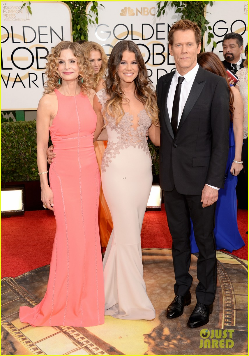 kevin bacon kyra sedgwick golden globes daughter sosie 013029256