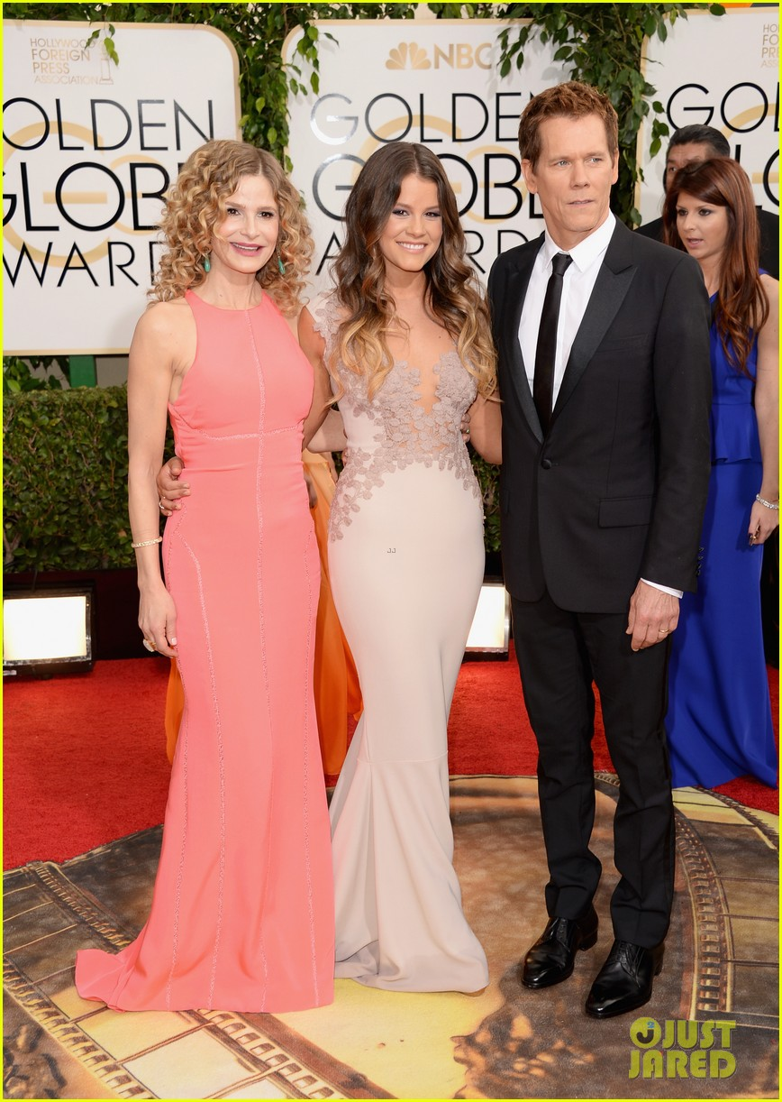 kevin bacon kyra sedgwick golden globes daughter sosie 023029257