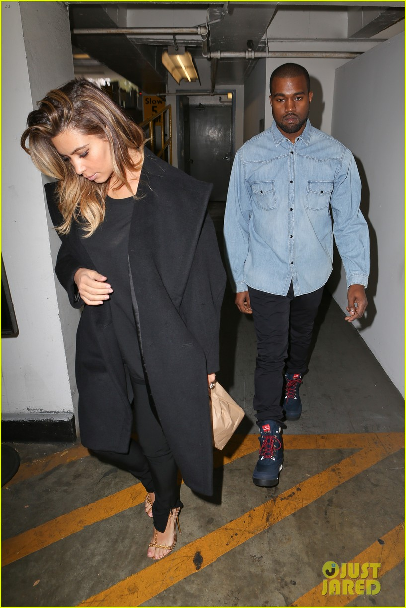 kim kardashian kanye west early morning doctor visit 03