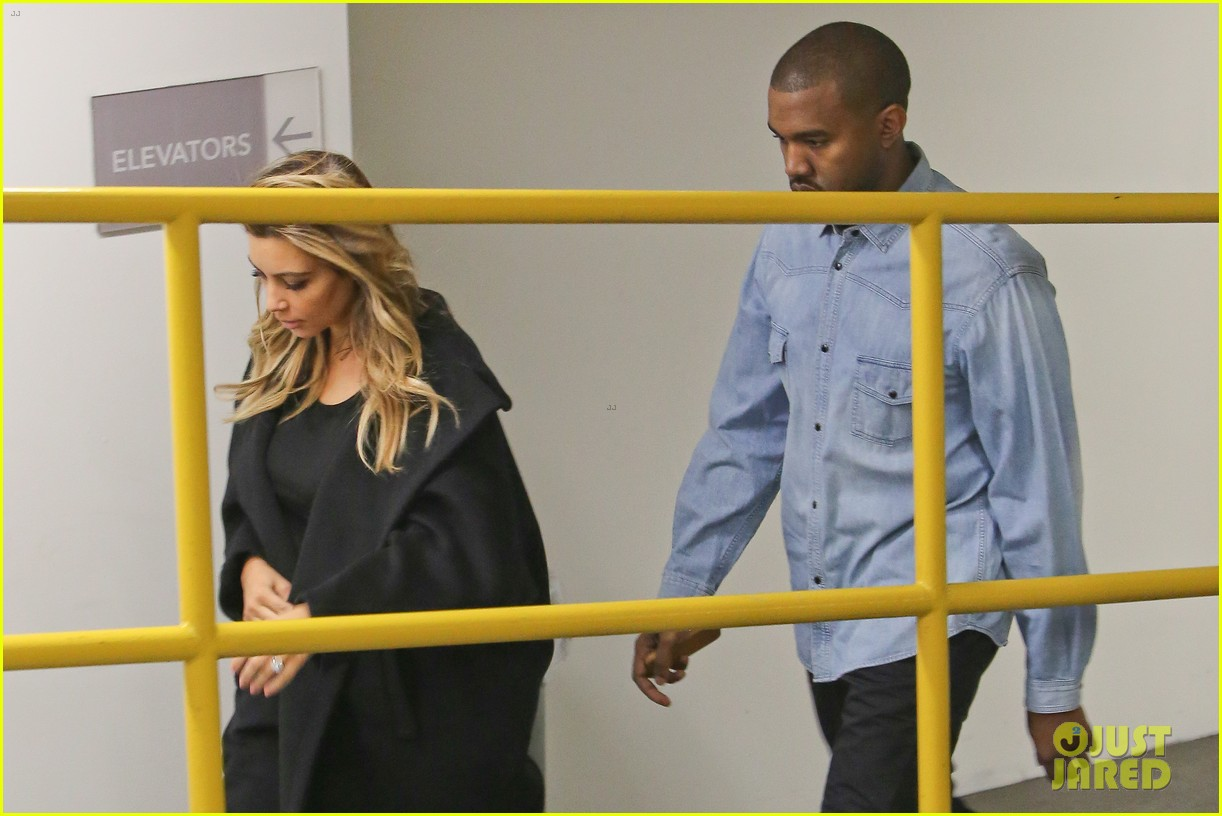 kim kardashian kanye west early morning doctor visit 06