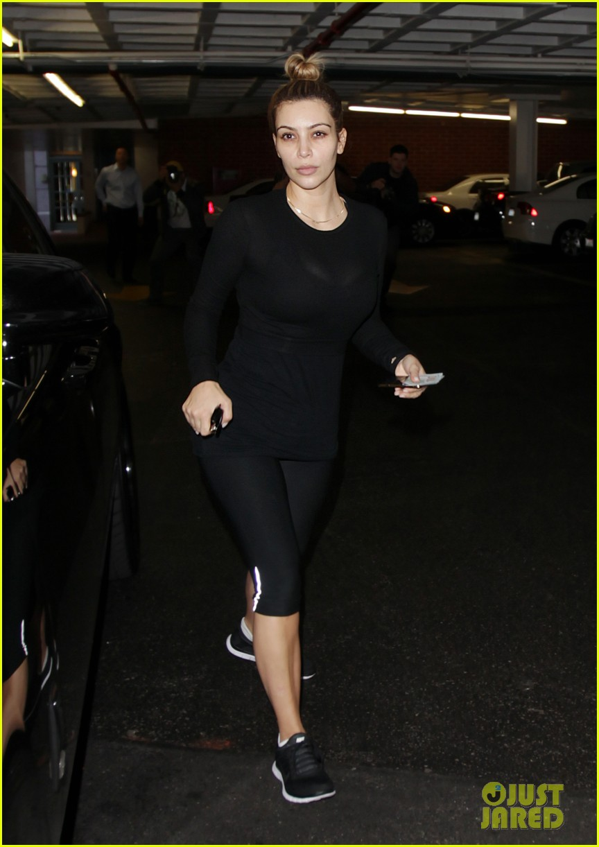kim kardashian makeup free for mani pedi 043022117