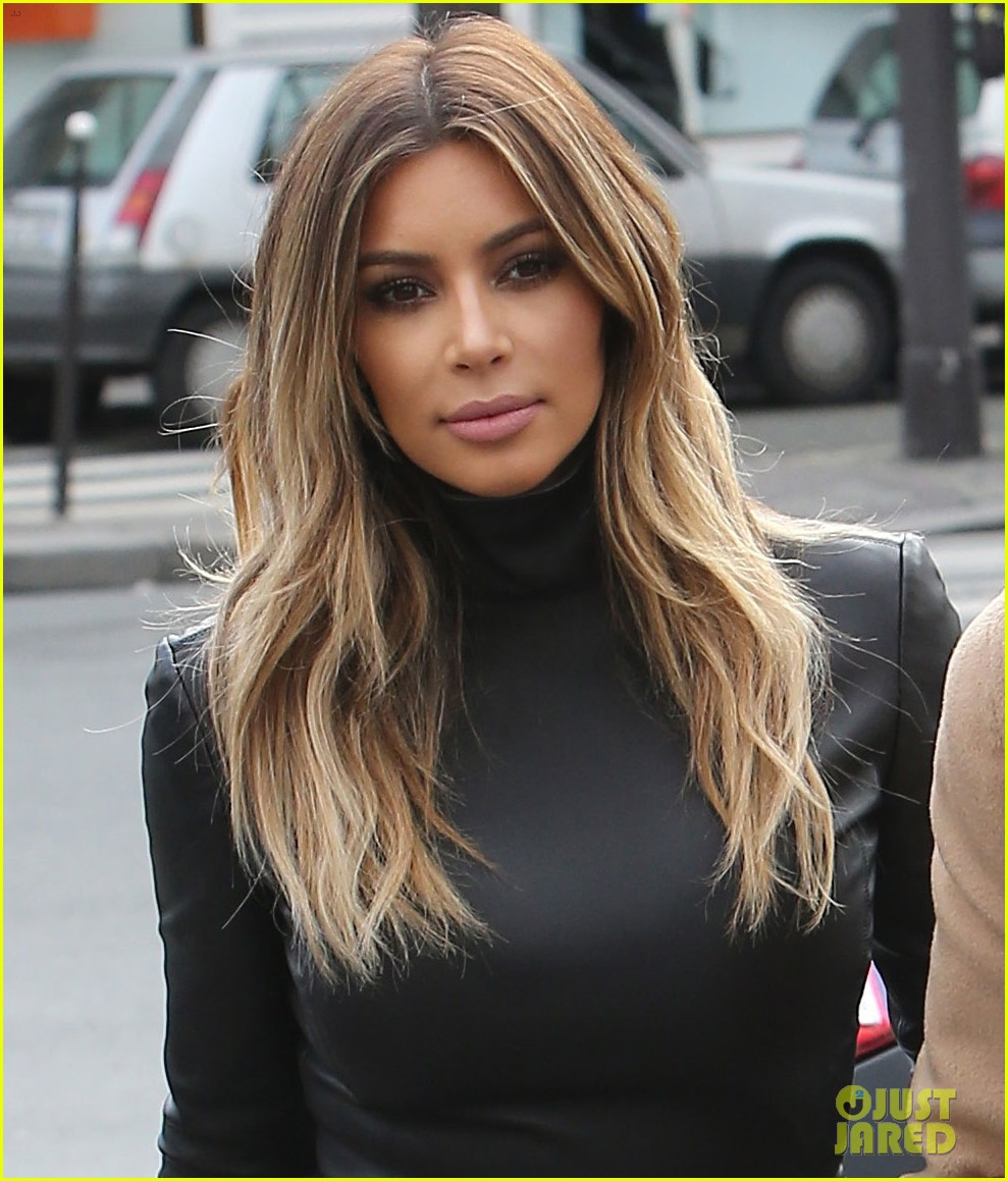 kim kardashian kanye west lunch lovers in paris 02