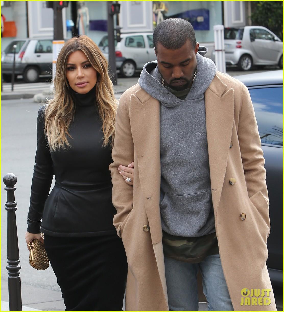 kim kardashian kanye west lunch lovers in paris 033035395