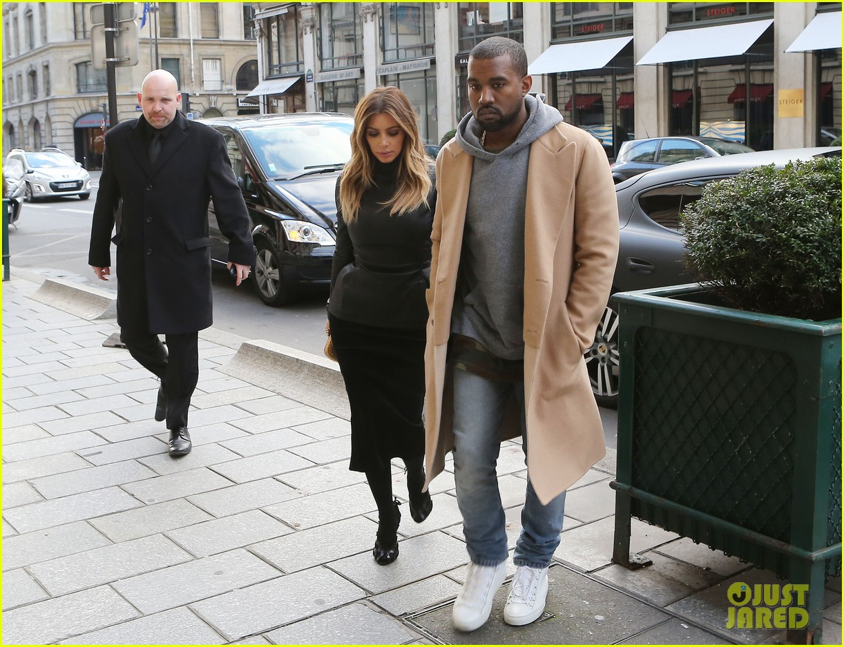 kim kardashian kanye west lunch lovers in paris 05