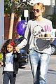 heidi klum morning coffee run with daughter lou 10