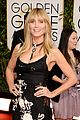 heidi klum golden globes 2014 red carpet 06