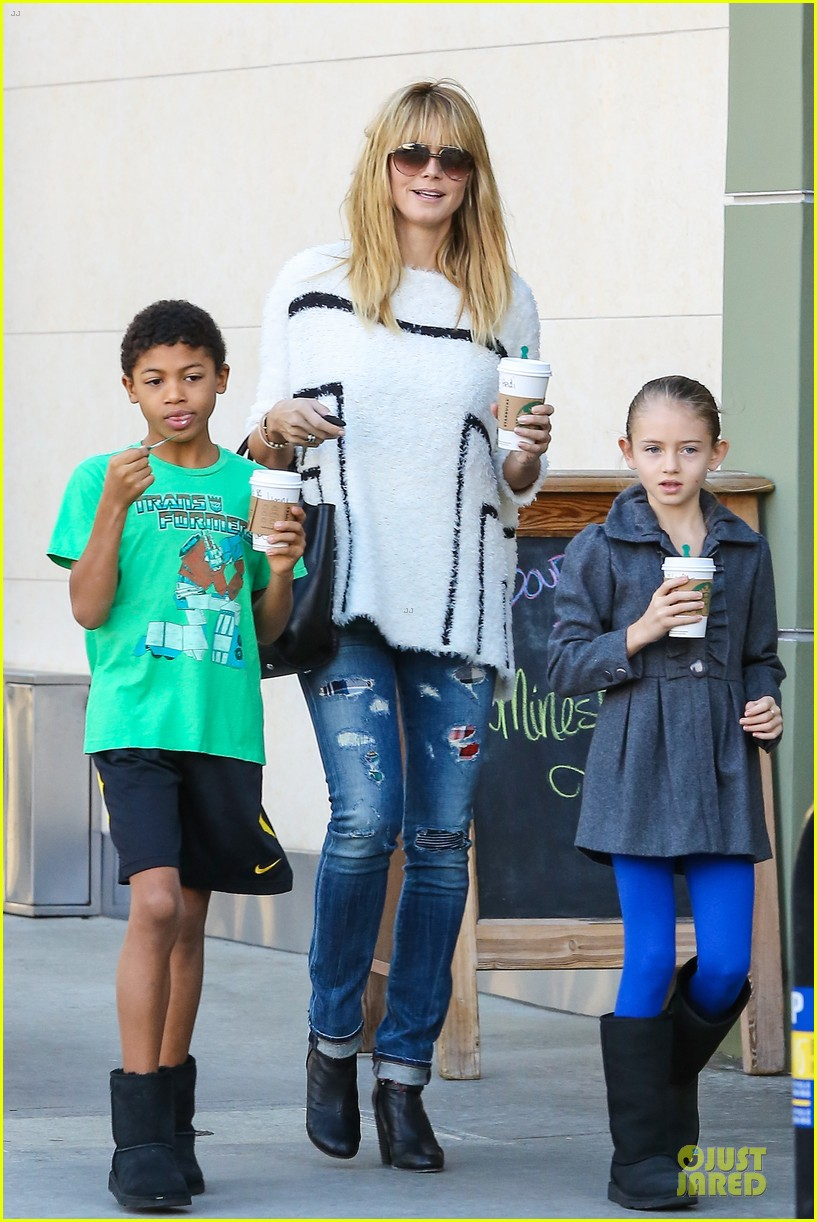 heidi klum grabs coffee before jag gym stop with the kids 013036038