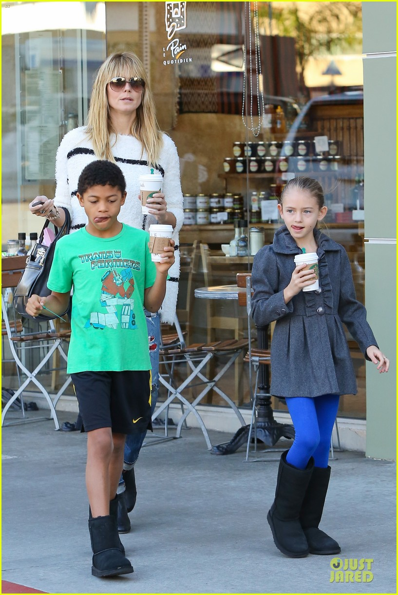heidi klum grabs coffee before jag gym stop with the kids 283036065