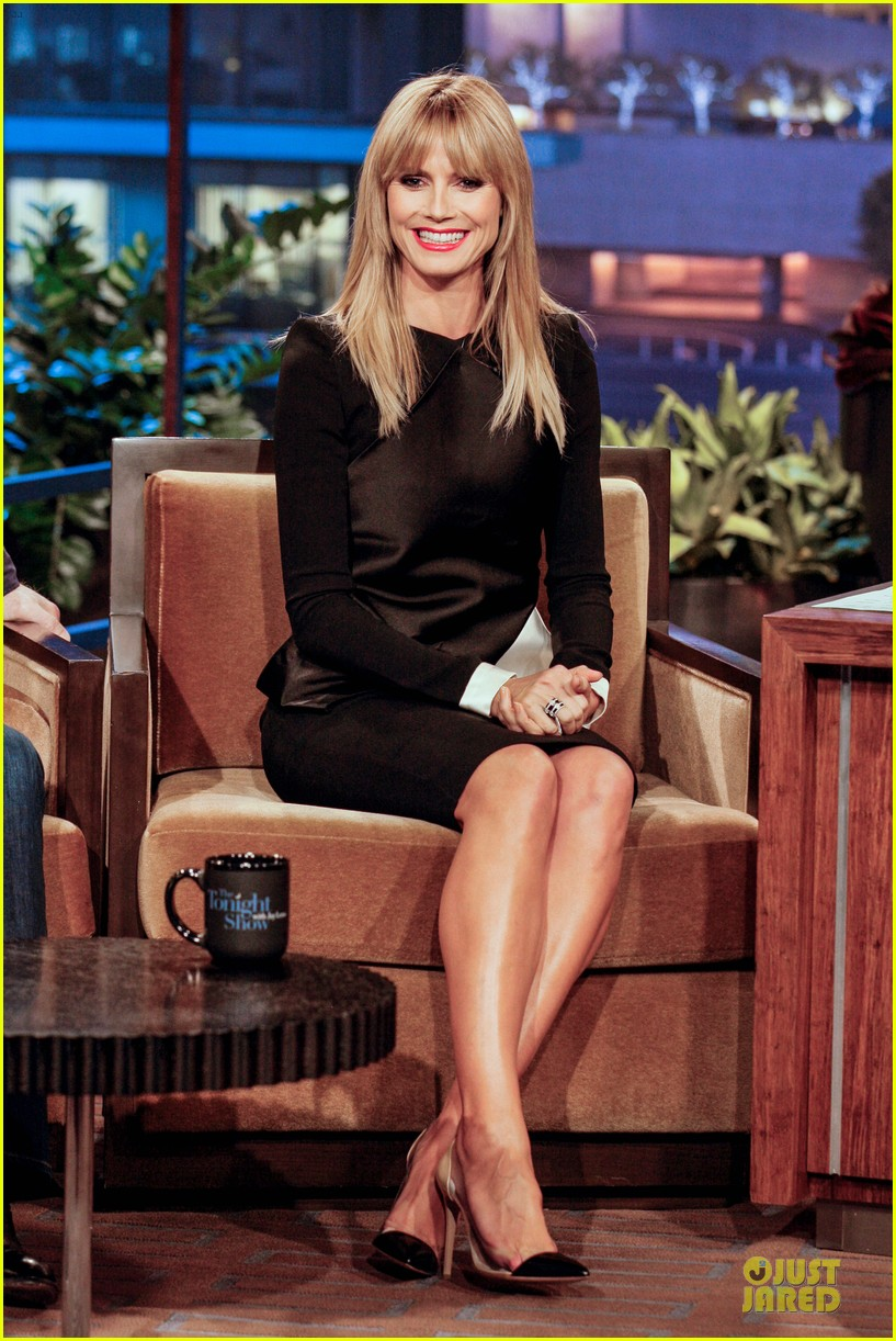heidi klum 24 tonight show with jay leno appearances 033039667