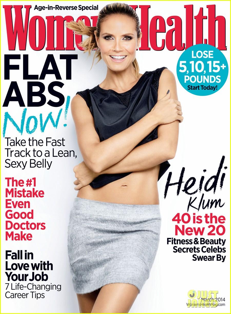 heidi klum covers womens health march 2014 013044316
