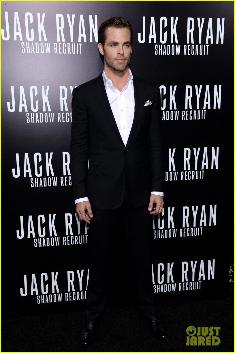 chris pine keira knightley jack ryan hollywood premiere 253032398