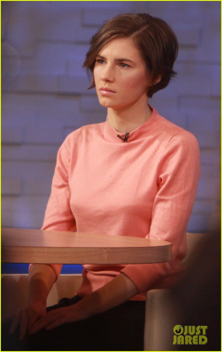 amanda knox on gma i will never go back to italy 013044853