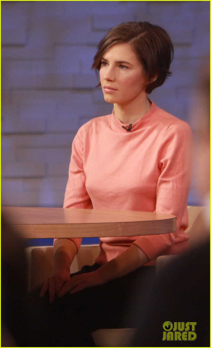 amanda knox on gma i will never go back to italy 053044857