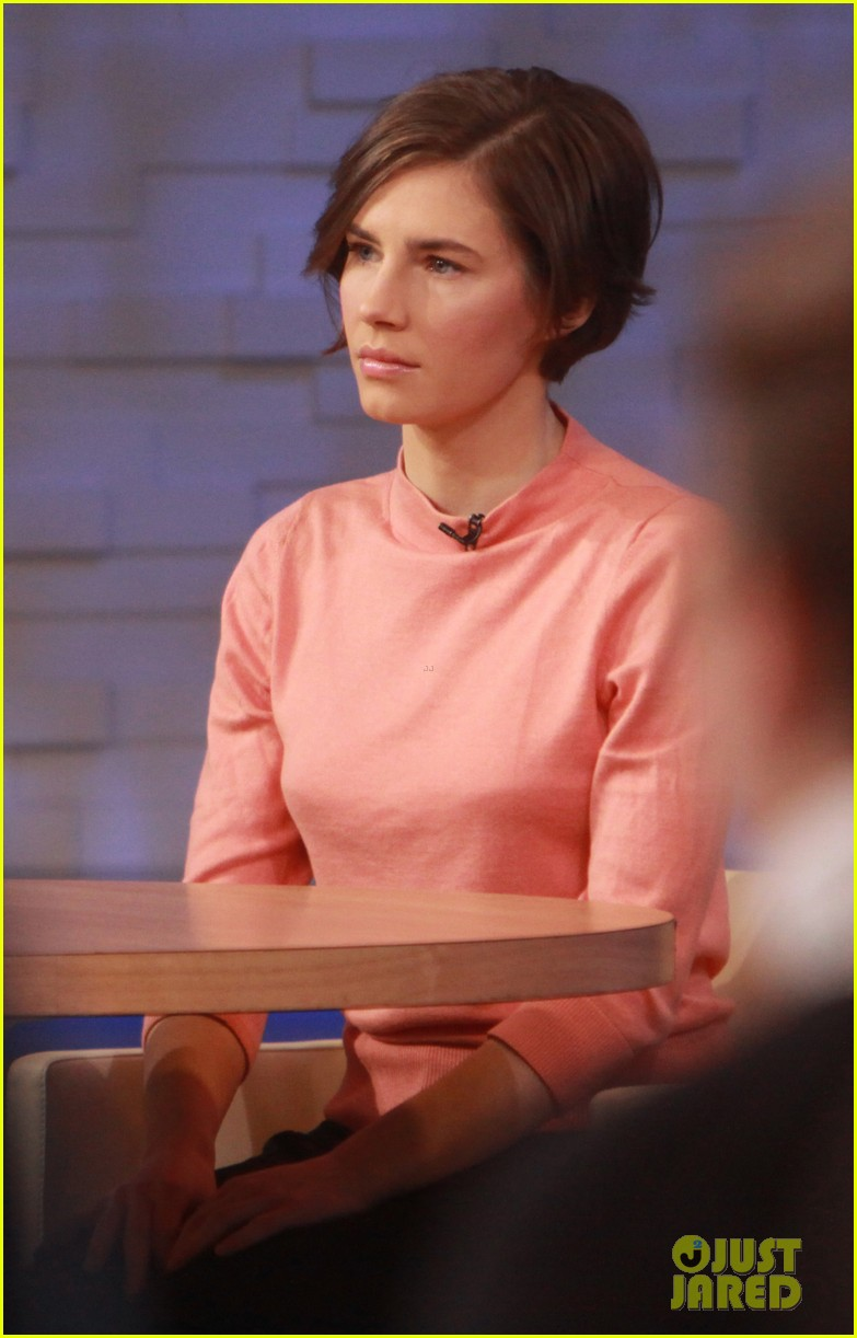 amanda knox on gma i will never go back to italy 073044859
