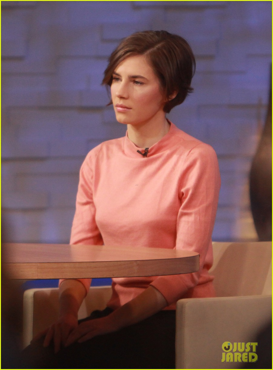 amanda knox on gma i will never go back to italy 083044860