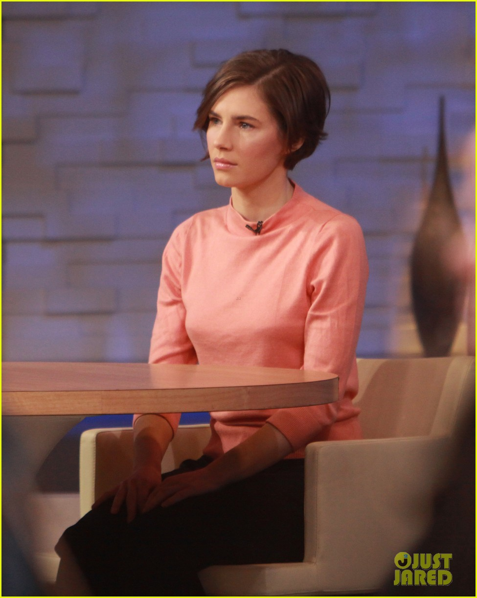 amanda knox on gma i will never go back to italy 103044862