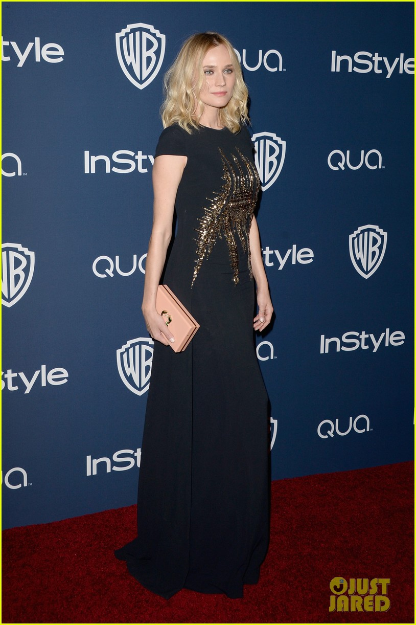 diane kruger instyle golden globes party 2014 013030047