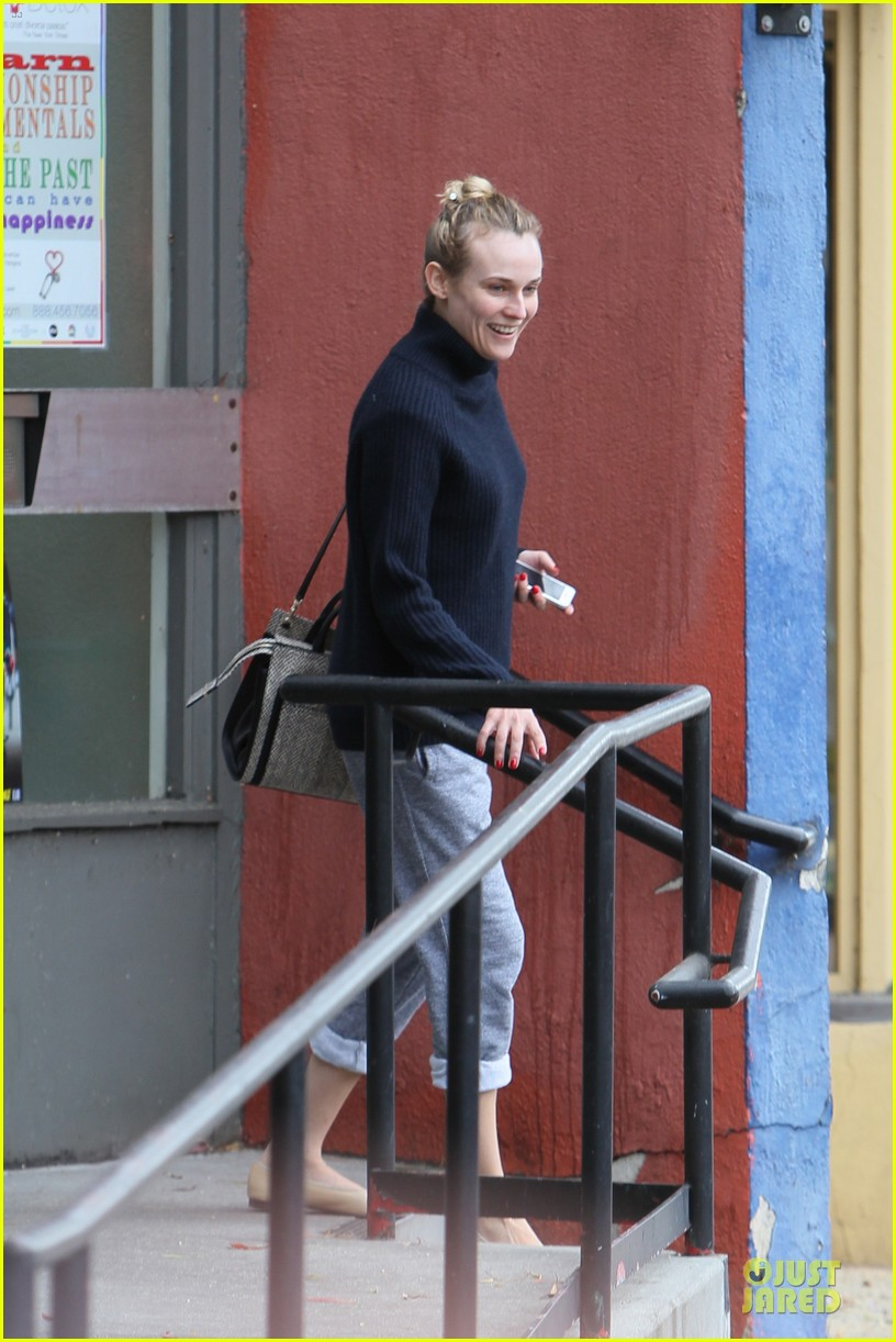 diane kruger all nuatral beauty for friday workout 053039495