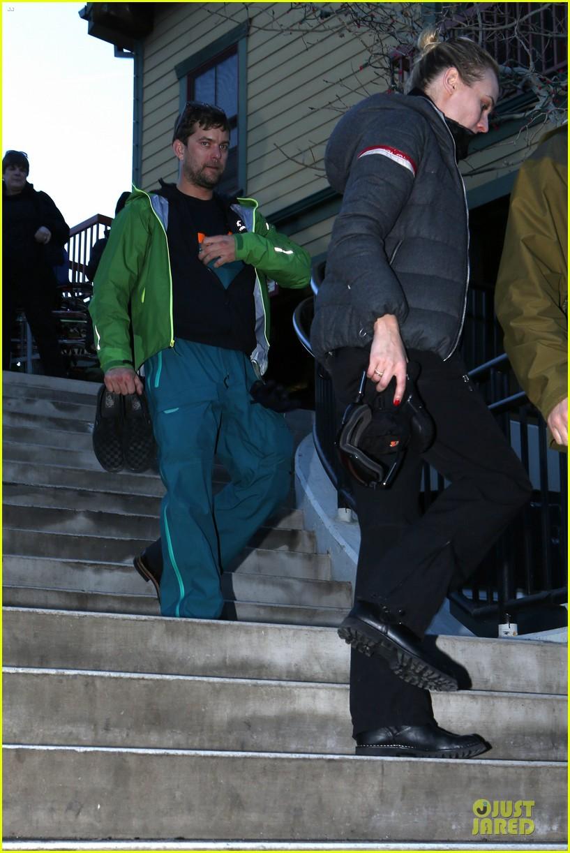 diane kruger joshua jackson skiing pair in park city 083037527