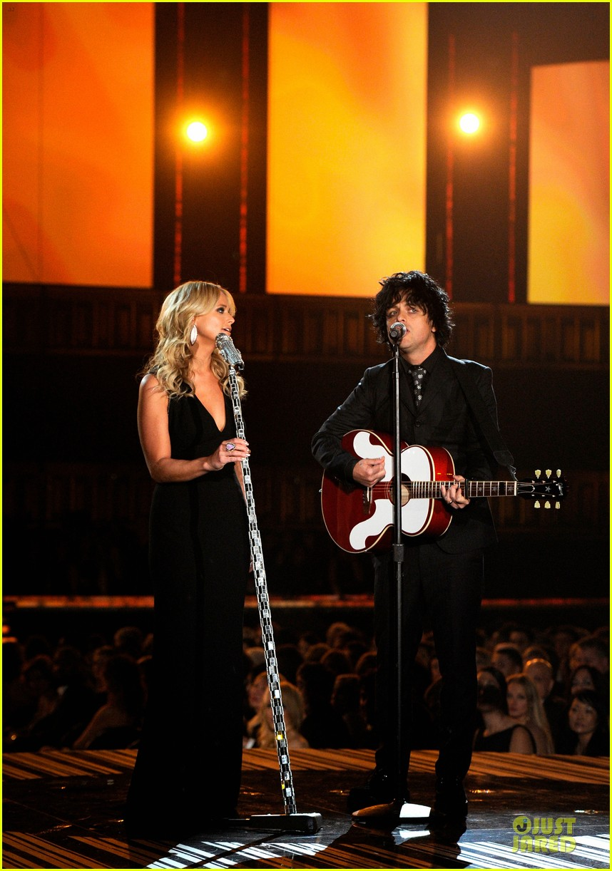 miranda lambert billie joel armstrong when i will be loved at the grammys 2014 video 013041726