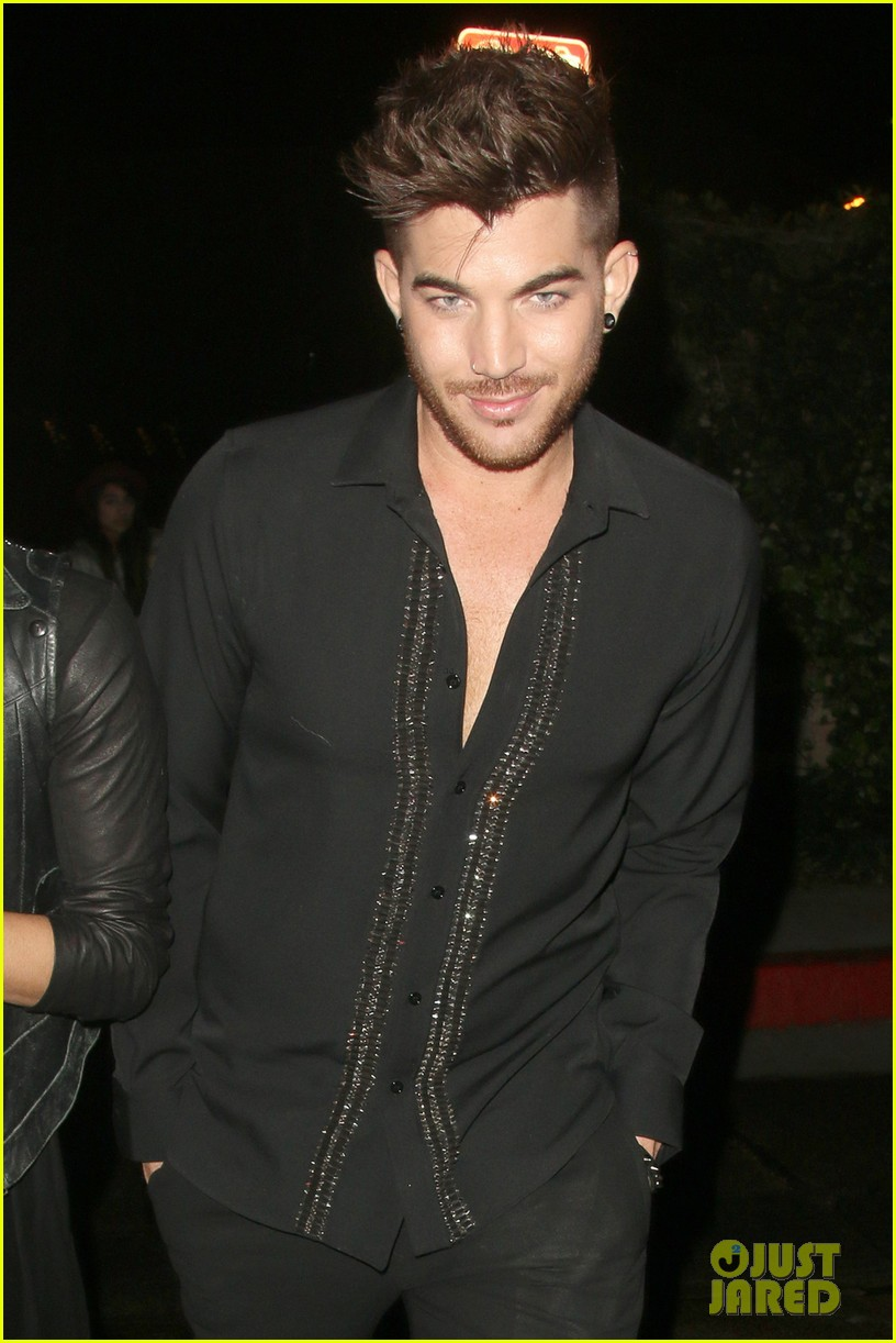 olivia munn adam lambert chateau marmont night out 04