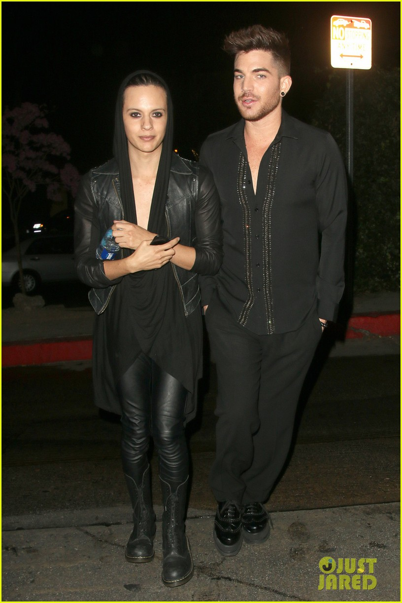 olivia munn adam lambert chateau marmont night out 08