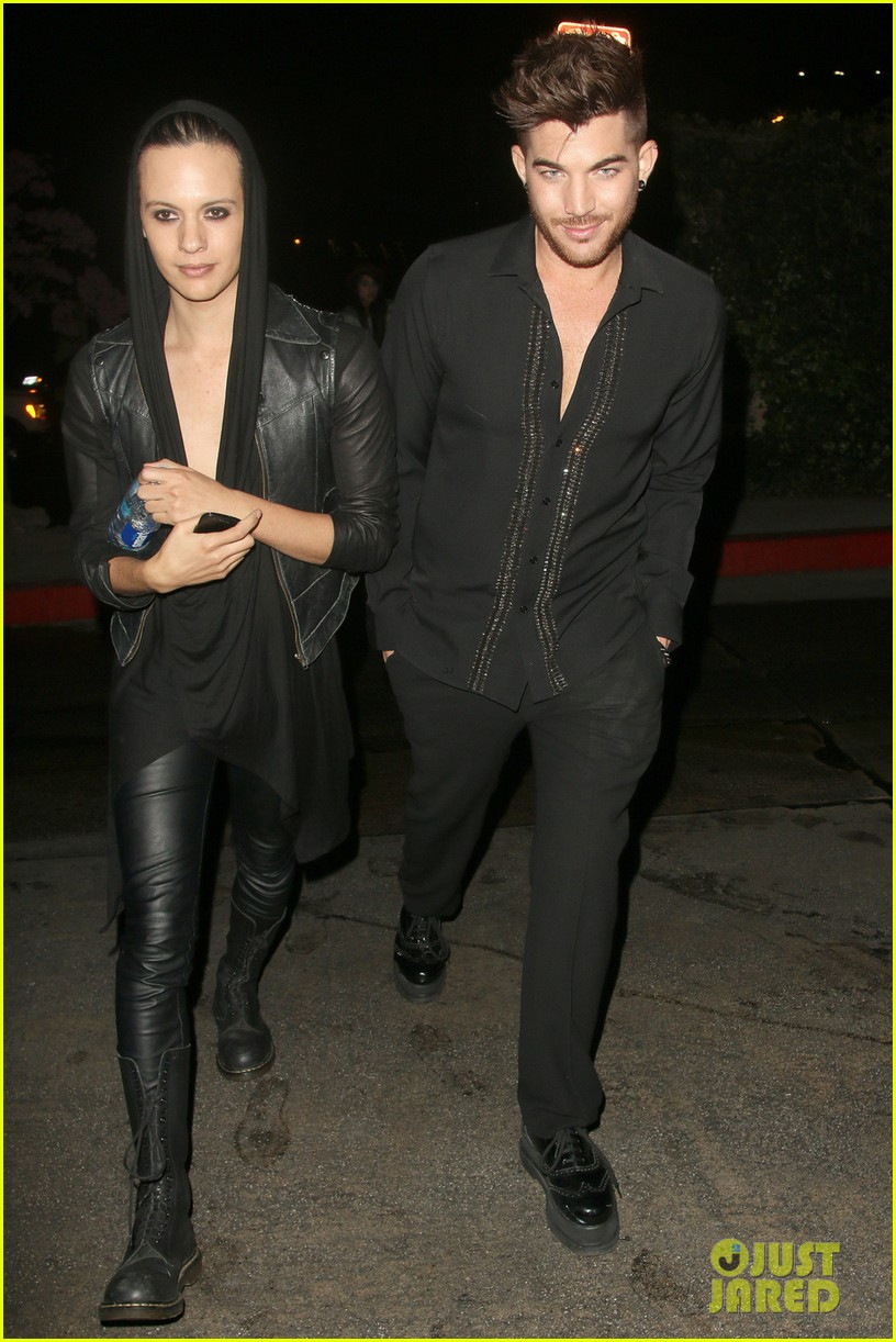 olivia munn adam lambert chateau marmont night out 103042057