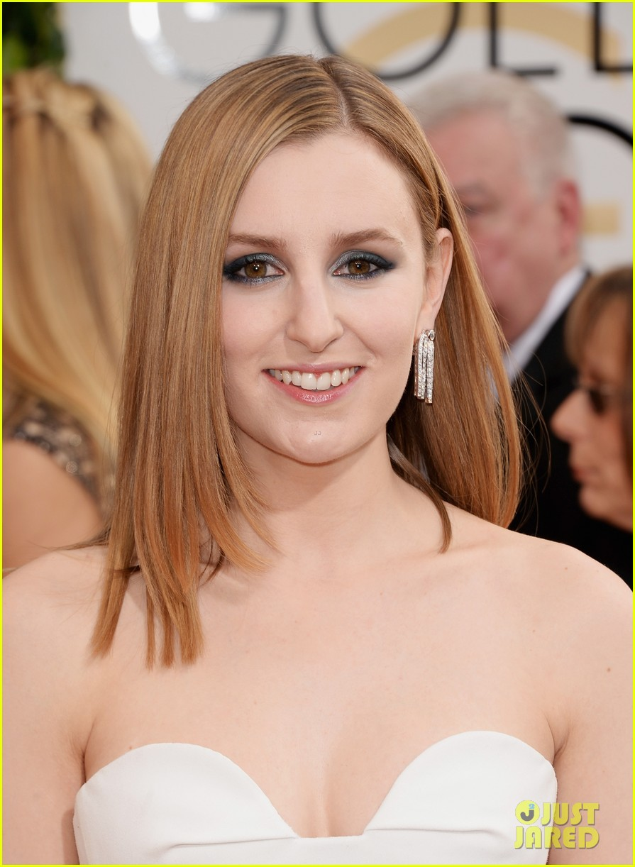 laura carmichael golden globes 2014 red carpet 043029594