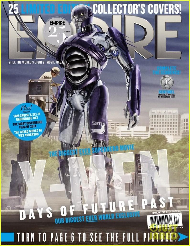 jennifer lawrence is mystique on new x men magazine cover 03