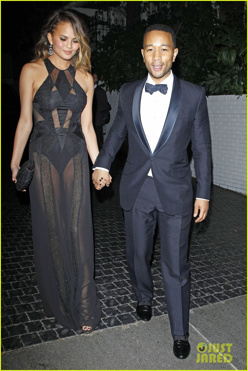 john legend chrissy teigen grammys 2014 after party 01