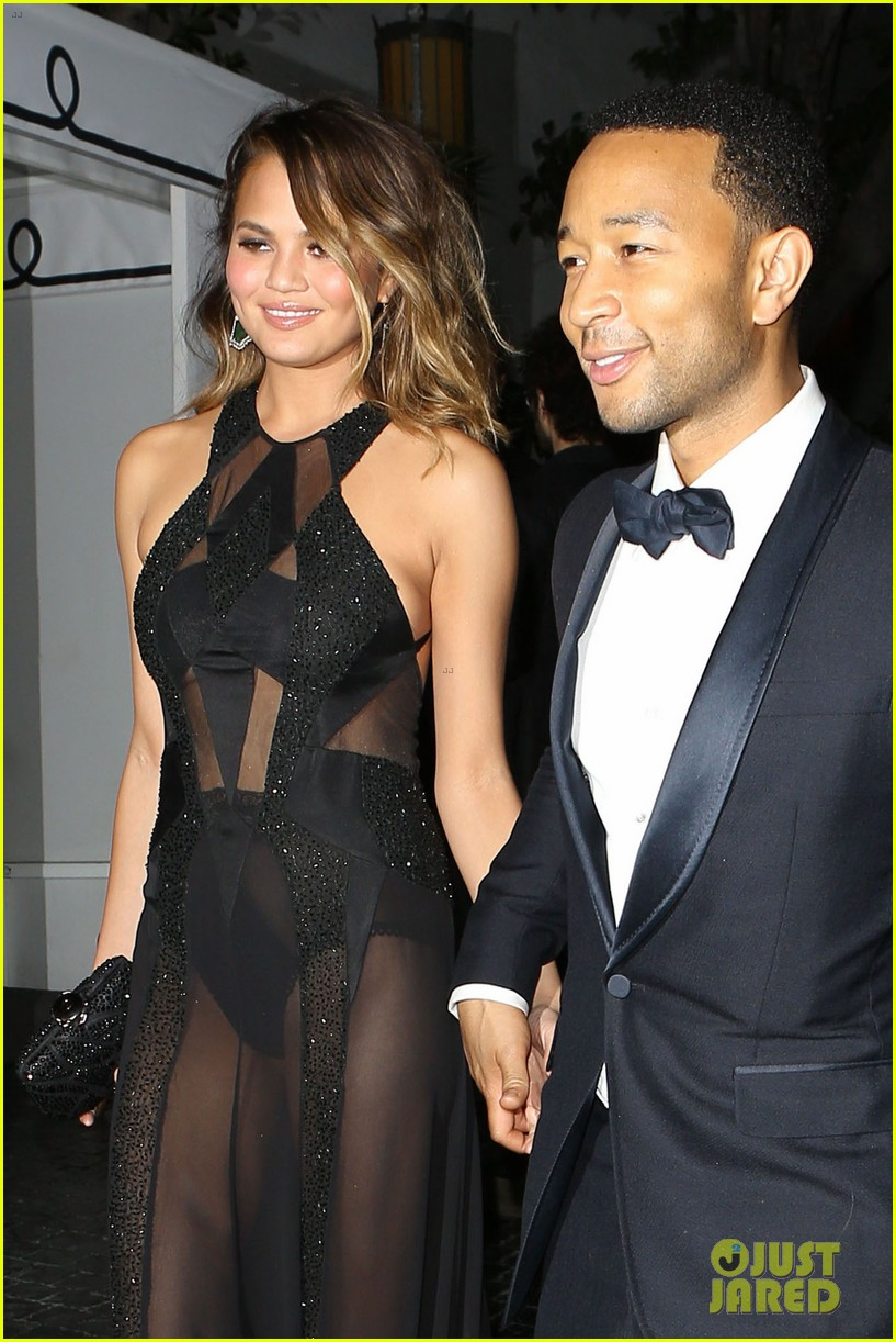 john legend chrissy teigen grammys 2014 after party 023041925