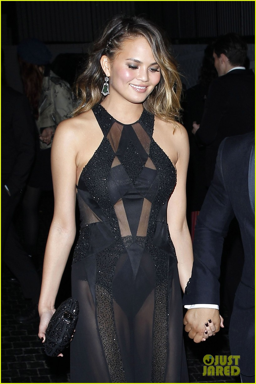 john legend chrissy teigen grammys 2014 after party 063041929