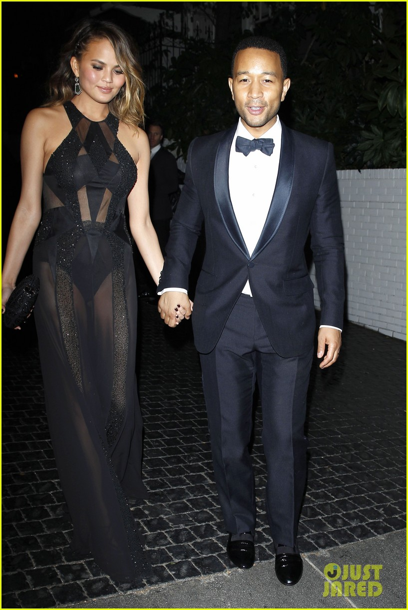 john legend chrissy teigen grammys 2014 after party 113041934