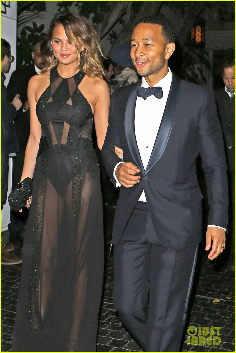 john legend chrissy teigen grammys 2014 after party 123041935