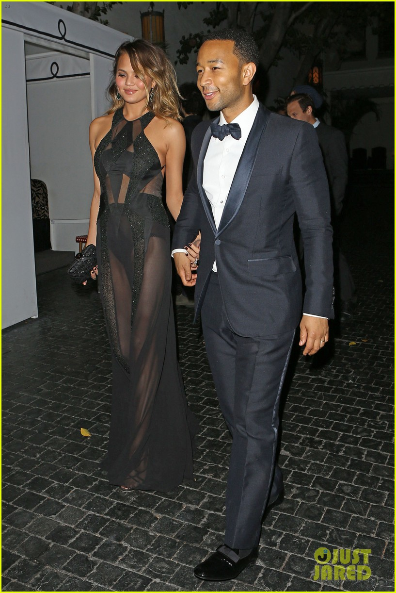 john legend chrissy teigen grammys 2014 after party 143041937